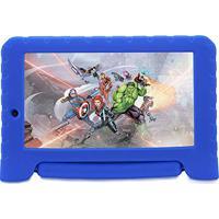 Tablet 7Pol - Multilaser Disney Vingadores Plus (Quad Core - 8Gb - Wifi) - Azul - Nb 280