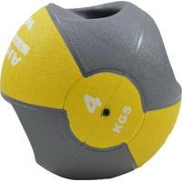 Medicine Ball Com Manopla Ahead Sports 4Kg - Unissex