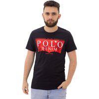 Camiseta Masculina Polo Denim Gr -518
