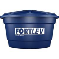 Caixa D'Água 100L Azul Polietileno - Fortlev - Fortlev