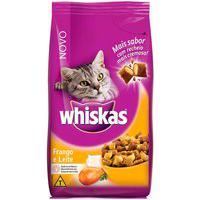 Ração Para Gatos Whiskas Sabor Frango E Leite 3Kg
