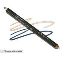 Lápis 2 Em 1: Delineador & Iluminador- Azul Noite- 4Avon