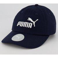 Boné Puma Essential Juvenil Marinho
