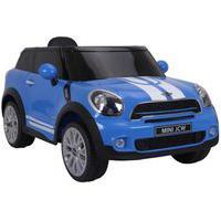 Carrinho Elétrico Infantil Bel Brink Mini Paceman 12V Com Controle Remoto Azul