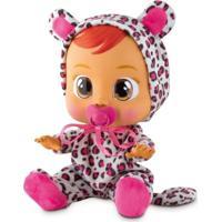 Boneca Bebê Com Mecanismo - Crybabies - Leo - Multikids - Feminino-Incolor