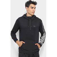 Blusão Nike Dry Hd Po Flc Lv Masculino - Masculino-Preto