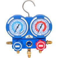 Kit Manifold Manômetros Analógicos Gallant R410A/R22/Etc