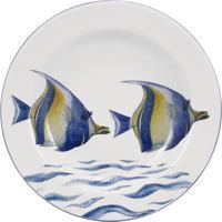 Prato Fundo 23 Cm Porcelana Schmidt - Dec. Oceanos