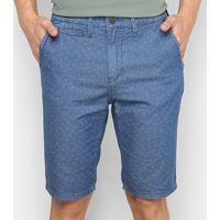 Bermuda Jeans Lacoste Masculina - Masculino-Azul Royal