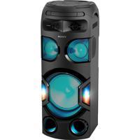 Mini System Sony Torre Mhc-V72D, Mega Bass, Usb, Bluetooth, Nfc, Hdmi, Função Dj, Karaokê