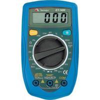 Multímetro Digital Minipa Et-1400 Azul