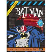 Caderno Brochurão Foroni Capa Dura Batman 96 Folhas