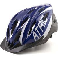 Capacete Atrio Para Ciclismo Mtb 2.0 Com Led Traseiro 19 Entradas De Ventilação - Masculino
