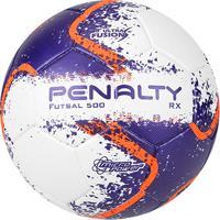 8f84c164d85e8 Netshoes  Bola Futsal Penalty Rx 500 R2 Fusion Viii - Unissex