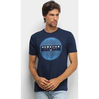 Camiseta Hd Estampa Pointless Masculina - Masculino-Marinho