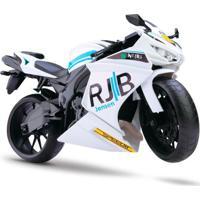 Moto Rodas Livres - Roma Racing Motorcycle - Branca - Roma Jensen