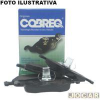 Pastilha Do Freio - Cobreq - Jac J5/J6 2011 Até 2014 - Sistema Freio Sumitomo - Com Alarme - Dianteiro - Jogo - N-1211