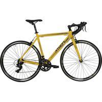 Bicicleta Aro 700 Top Speed Amarela Fosca Athor Bike