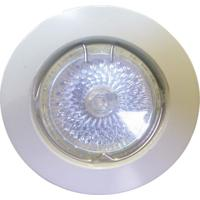 Spot Dicróica Fixo Zamac Mr16 50W 220V Branco