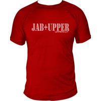 Camiseta Uppercut Muay Thai Dry Fit Jab Vermelha
