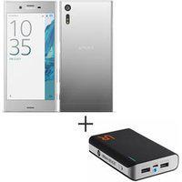 Xperia Xz Prata Sony, 5,2, 4G, 32 Gb, 23 Mp Xperiaxz + Carregador Portatil 8800 Mah Preto - Trust - Tr-20070I
