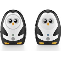 Baba Eletrônica Áudio Digital Pinguim Multikids Baby Preto