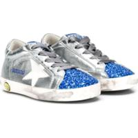 Golden Goose Kids Tênis 'Superstar' - Prateado