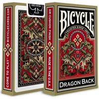 Baralho Bicycle Gold Dragon Backplaying Cards - Unissex