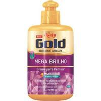 Creme Para Pentear Niely Gold Mega Brilho 280G - Unissex-Incolor