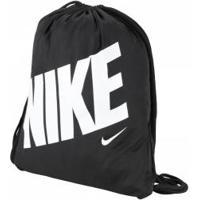 Gym Sack Nike Gfx - Infantil - 12 Litros - Preto