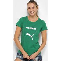 Camiseta Palmeiras Graphic Puma Feminina - Feminino