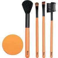 Conjunto De Pinceis De Maquiagem E Esponja Ricca Kit - Feminino-Incolor