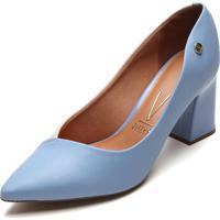 Scarpin Vizzano Bicolor Azul