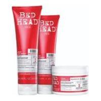 Shampoo + Condicionador + Máscara Tigi Bed Head Urban Antidotes Resurrection Reparação - Unissex-Incolor