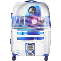 Mala De Viagem Bagaggio Star Wars Tamanho Pp - Masculino-Azul
