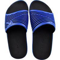 Chinelo Kenner Slide Masculino - Masculino-Azul