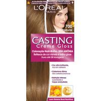 Coloração Permanente Casting Creme Gloss N° 700 Louro Natural L'Oréal 1 Unidade