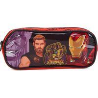 Estojo Escolar Infantil Xeryus Avengers - Masculino