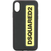 Dsquared2 Capa Para Iphone X Com Logo - Preto