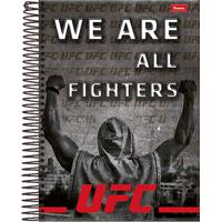 Caderno Foroni Ufc We Are All Fighters 10 Matérias