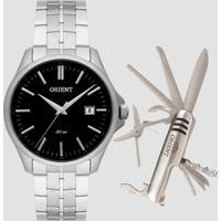 Kit Relógio Masculino Orient Mbss1332 K274