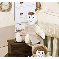Boneco Decorativa Para Quarto Bebê - Coleção Imperial Palha
