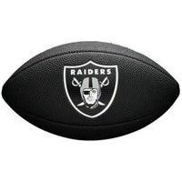 Bola De Futebol Americano Wilson Nfl Raiders Wtf1540Bkoa, Cor: Preto/Cinza, Tamanho: Único