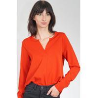 Blusa Calvin Klein Vermelha