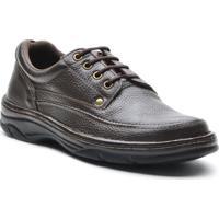 Sapato Masculino Conforto Cadarco Cafe - Masculino-Cafe