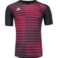 f7c36469e3 Camisa De Goleiro Adidas Adipro 18 - Masculina - Cinza Esc Vermelho