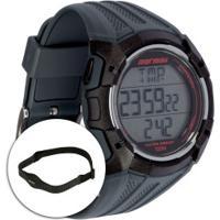 Monitor Cardíaco Com Cinta Mormaii Tech Mo11558A - Preto