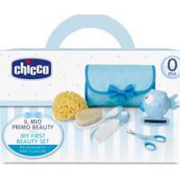Meu Primeiro Kit De Cuidados Para Bebê Boy (0M+) - Chicco Ch5163 Conjunto De Higiene Menino (0M+)
