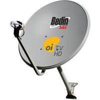 Antena Parabólica Ku 75 Cm + Lnbf Single + Cabo - Cromus