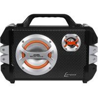Caixa De Som Amplificadora Lenoxx Music Wave Bluetooth Usb Com Microfone - Unissex